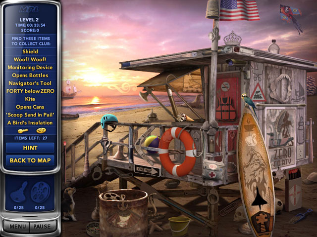 Online Game, Video Games, Hidden Object Games, Purchase Only Games, Mystery PI: Lost in Los Angeles