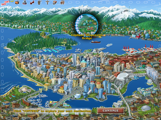 Big City Adventure: Vancouver Em Português