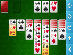 Solitaire Twist for the iPhone