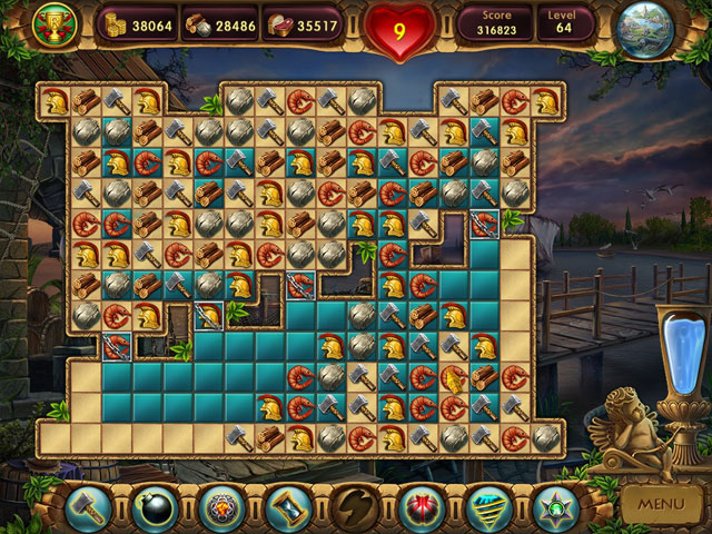 Game, Games, Online Game, Online Games, Video Game, Video Games, Match-3 Games, Premium Games, Purchase Only Games, Puzzle Games, Cradle of Rome 2: Premium Edition