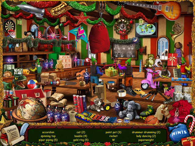 Game, Games, Online Game, Online Games, Video Game, Video Games, All Access Games, Hidden Object Games, Christmas Wonderland