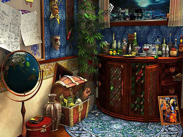 Online Game, Online Games, Video Games, Hidden Object Games, Purchase Only Games, Intrigue Inc. Raven's Flight