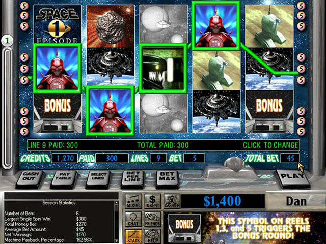 Online Game, Video Games, All Access Games, Poker, Casino Games, Reel Deal Slot Quest: Galactic Defender