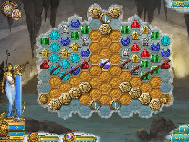 Online Game, Video Games, Match-3 Games, Purchase Only Games, Heroes of Hellas 3: Athens